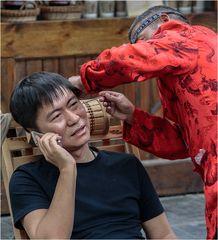 ...Leben in Chengdu...