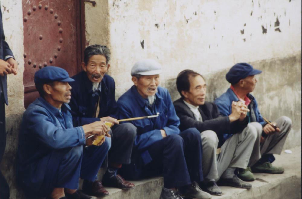 Leben in einem chinesischen Dorf