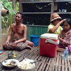 Leben in einem kambodschanischen Dorf