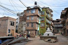Leben in Kirtipur im Kathmandu-Tal