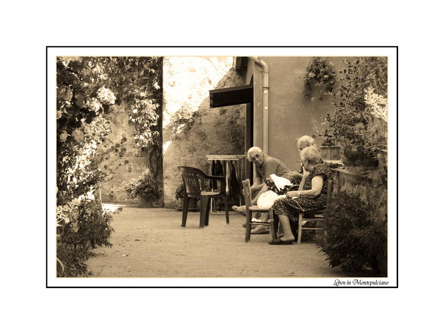 Leben in Montepulciano