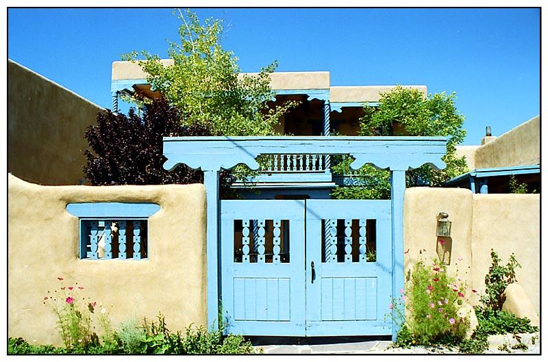 Leben in Taos - New Mexico, USA