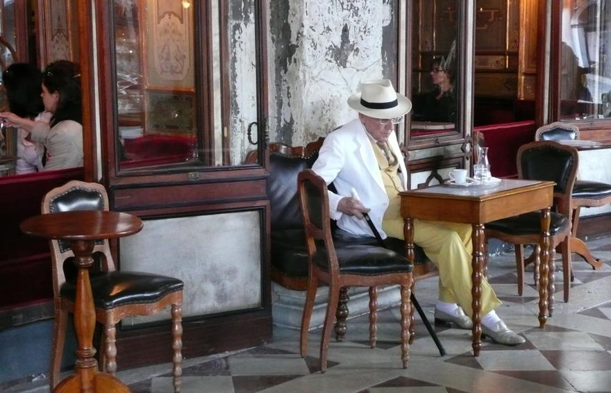 Leben in Venedig - Caffé Florian