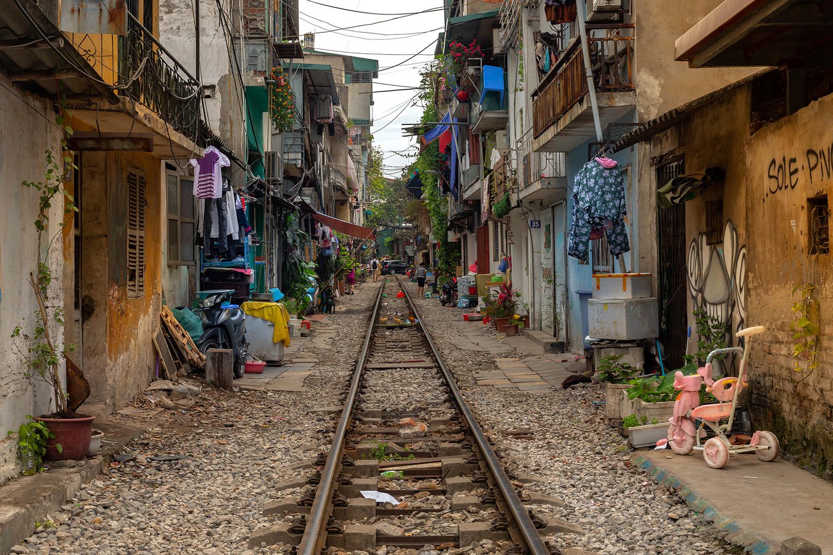 Leben und Wohnen am Bahngleis
