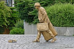 Lebende Statue - Performance