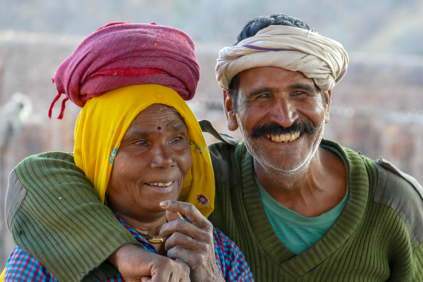 Lebenfreude in Indien