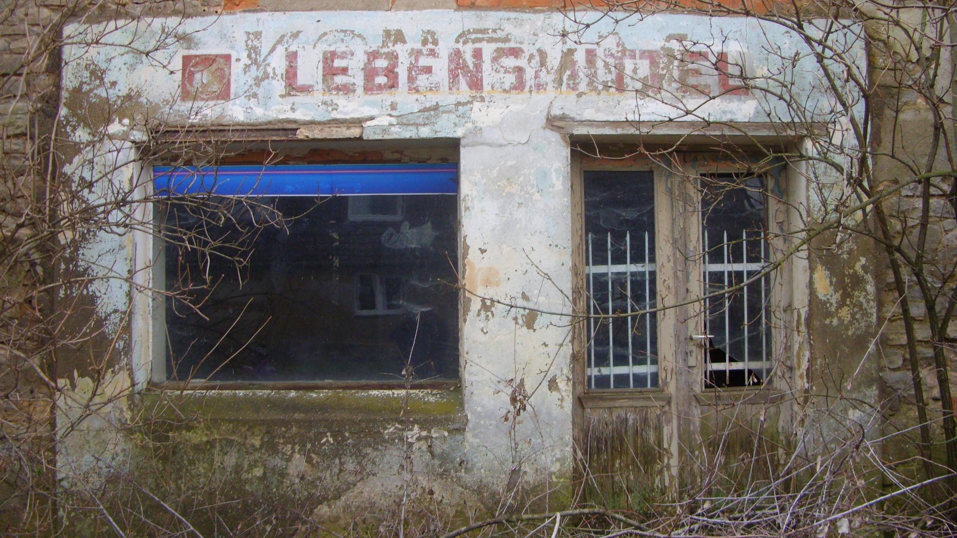 "Lebensmittelgeschäft - ""DDR Konsum in Roda"""