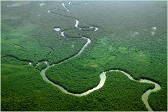 Lebensraum der Yanumami- Indianer- Amazonas