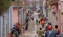 Lebhaftes Trinidad