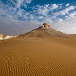 Leblose Wüste