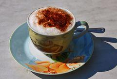 ... lecker Cappuccino