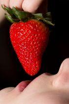lecker Erdbeere