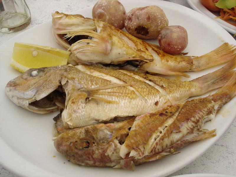 Lecker Fisch auf Lanzarote