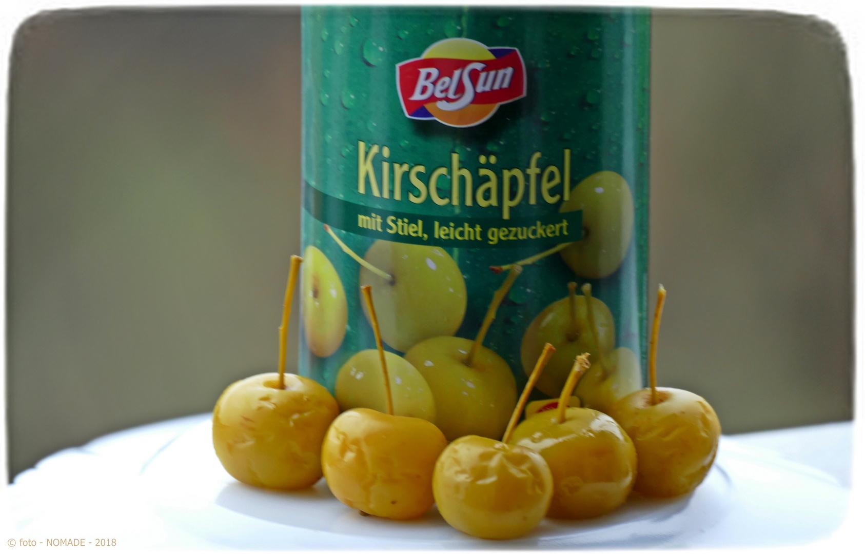 Lecker: Kirschäpfel aus dem Reich der Mitte