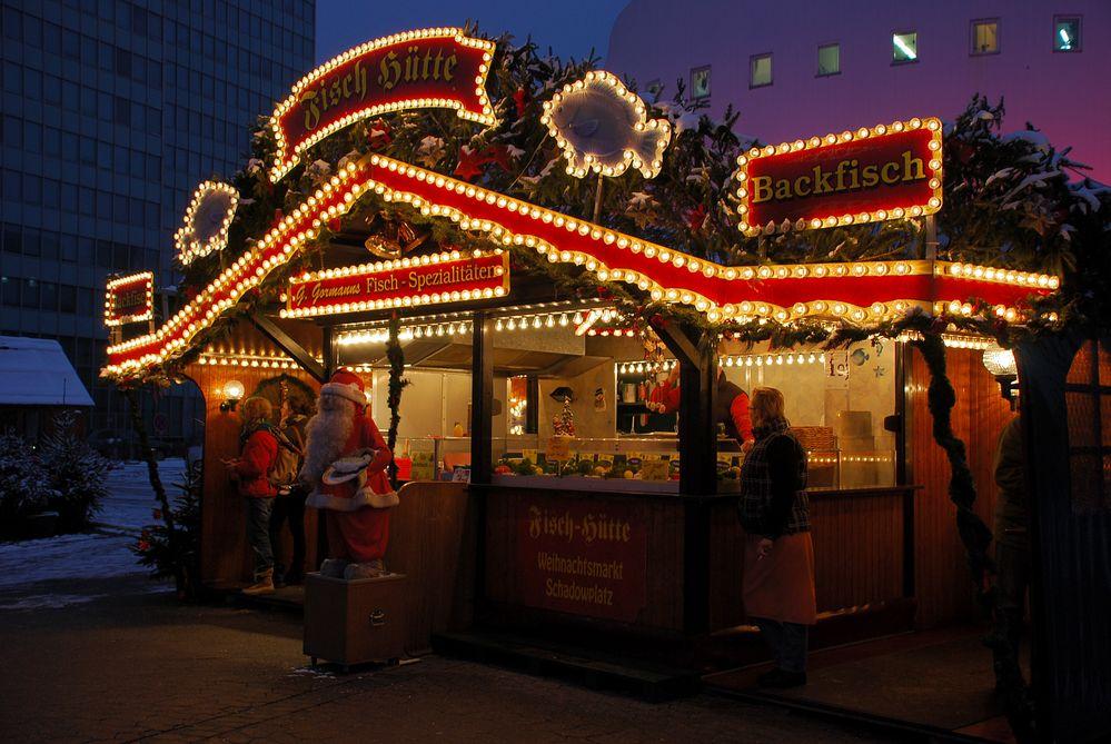 Leckeres auf dem Weihnachtsmarkt