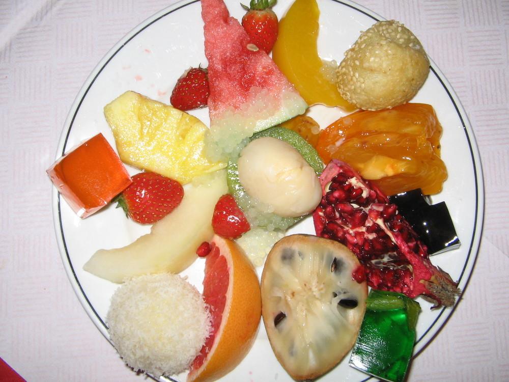 Leckerschmecker Früchteplatte