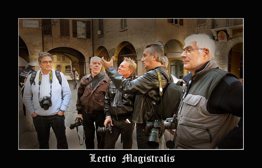 Lectio Magistralis