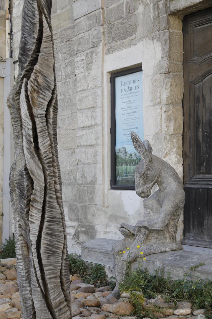 Lecture en Arles