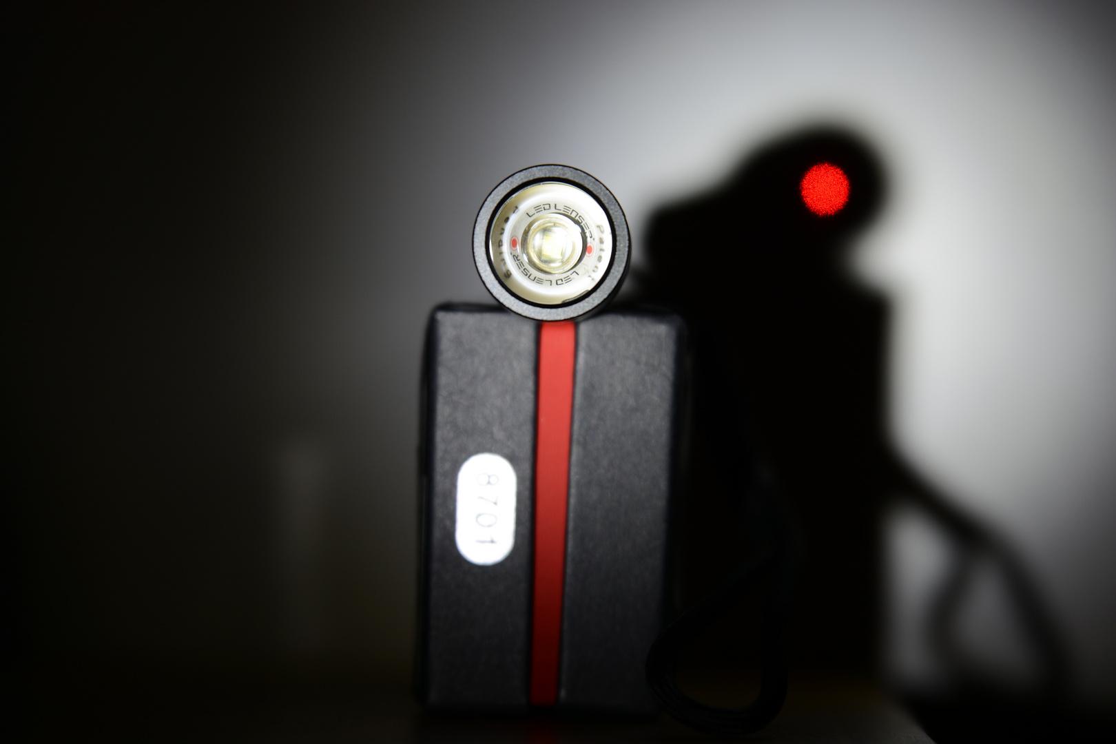 LED LENSER P5R (Zweibrüder), Linse