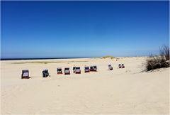 leer, verlassen.... Norderney Ostküste