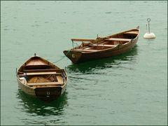 Leere Boote