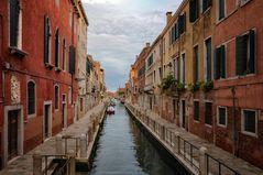 Leere Gassen in Venedig