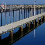 leerer Hafen
