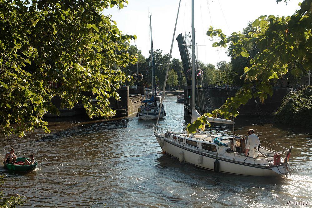 Leeuwarden (NL): Klappbrücke