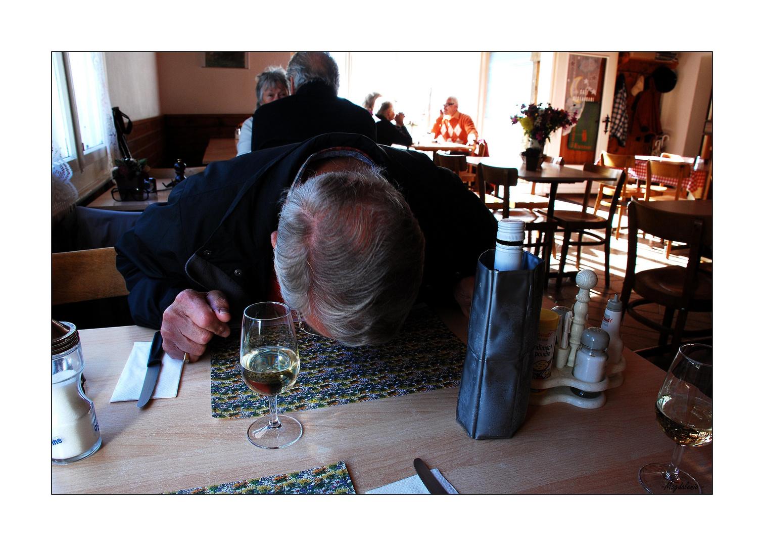 L'effet du vin ?