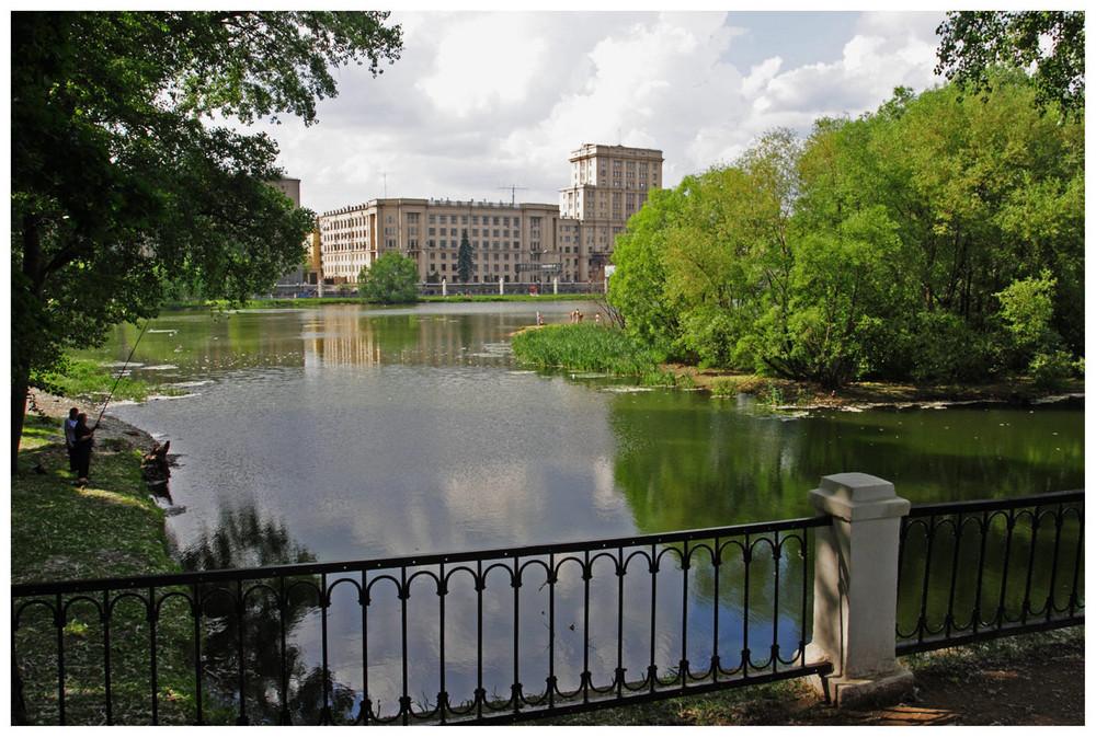 Lefortovo Park, Moscow
