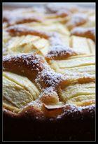 Legga Apfelkuchen - bekomme ich jedes Jahr zum Geburtstag.