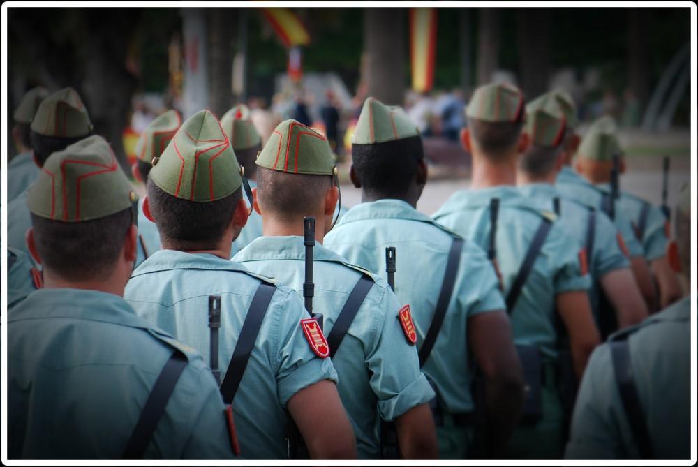 Legionarios en Melilla