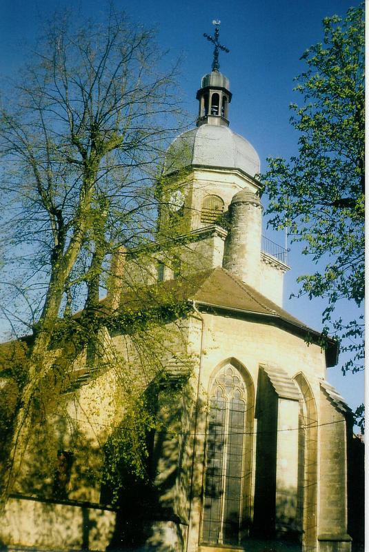 L'église de Saint-Amour (Jura)