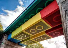 Lego-Brücke