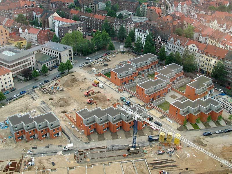 Lego-Häuser für Hannover