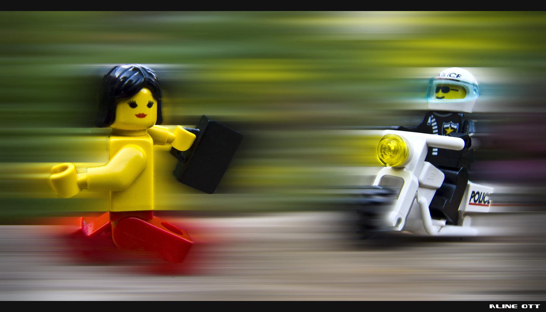 Lego rennt II