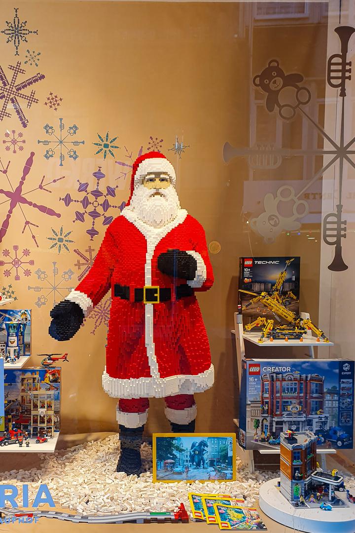 Lego- Weihnachtsmann