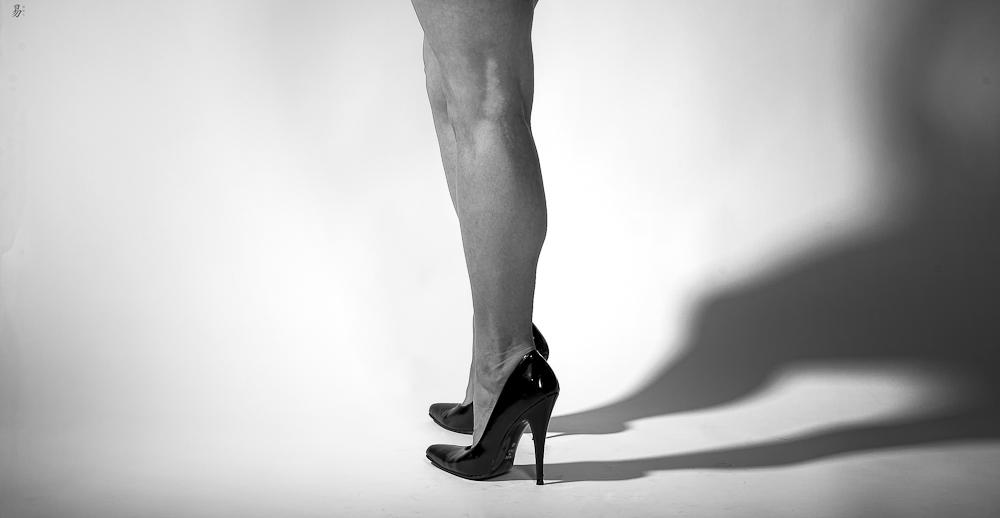 legs in light