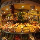 Légumes et fruits bien rangé
