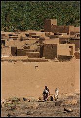 Lehmksar im Draa Tal, Marokko
