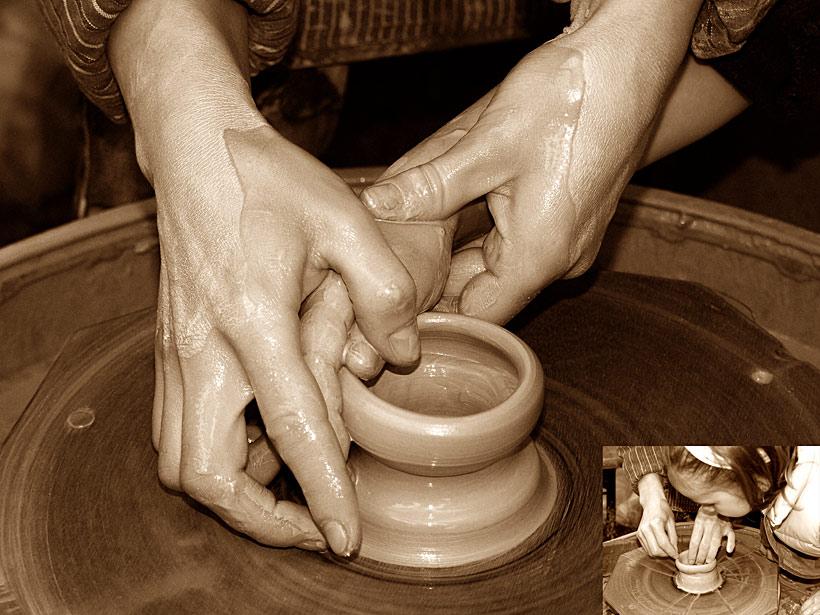 Lehrende Hände 1