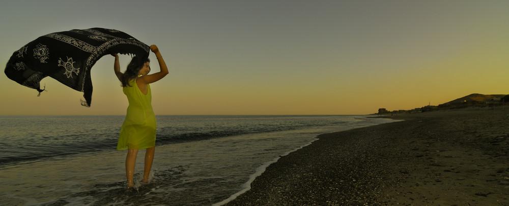 lei e il mare