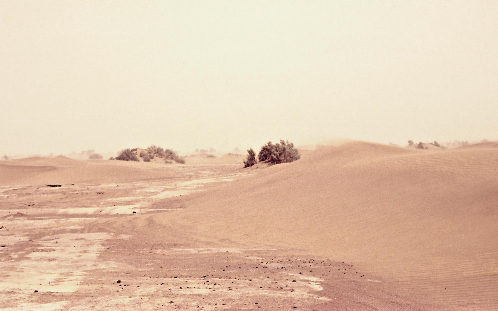 leichter Sandsturm