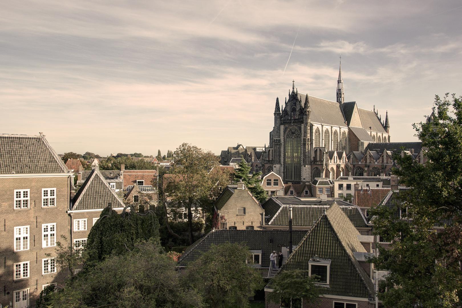 Leiden - Burcht van Leiden - Pieterskerk - 02
