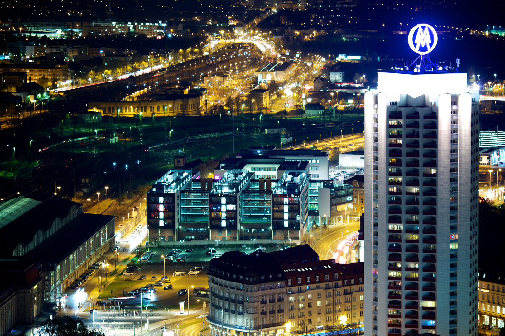 Leipzig by Night