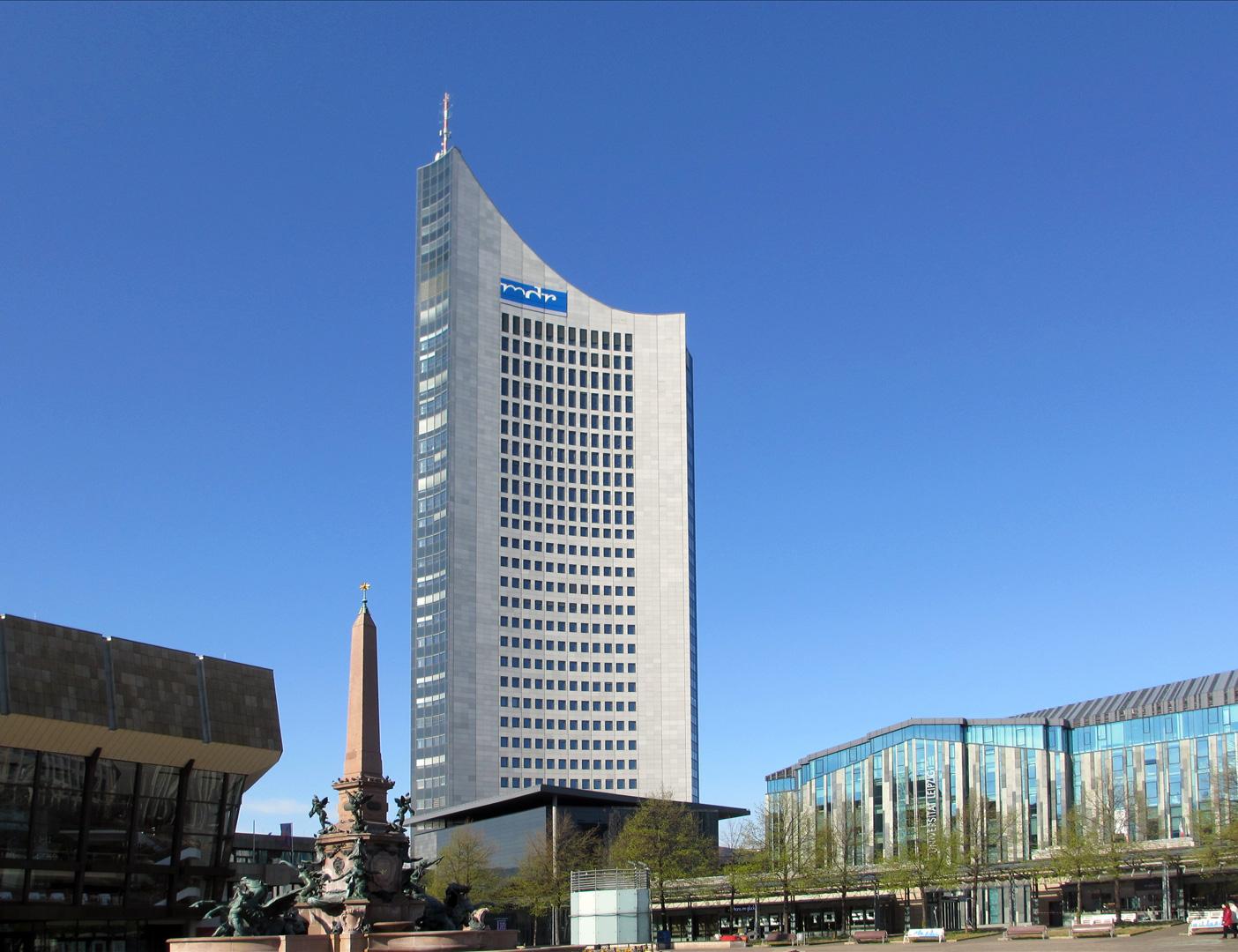 Leipzig - City-Hochhaus, Universität