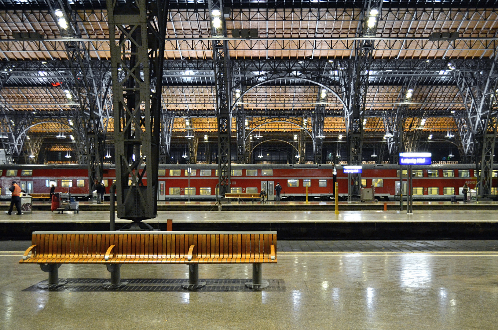 Leipzig - Estación Central