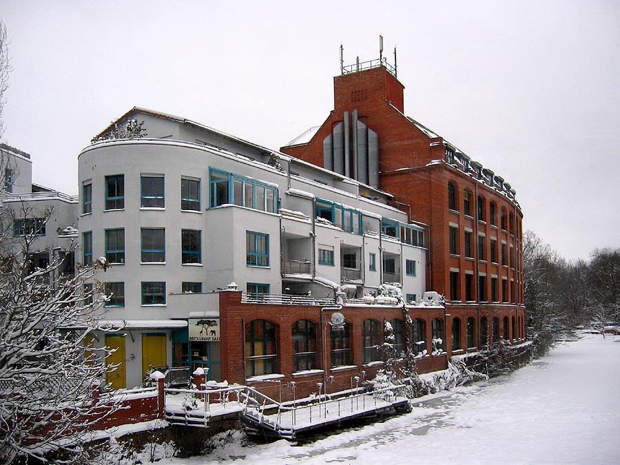 Leipzig im Schnee
