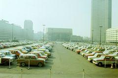 Leipzig Karl-Marx-Platz um 1982