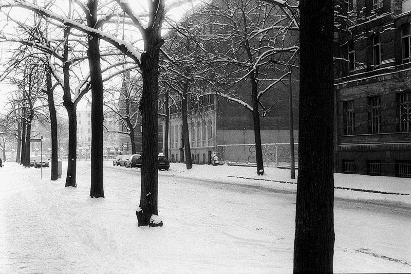 Leipzig Reudnitz im Winter